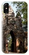Angkor Thom North Gate 02 IPhone Case