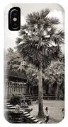 Angkor Wat Bw II IPhone Case