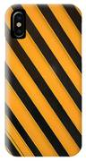 Angled Stripes IPhone Case