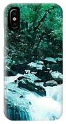 Anna Ruby Falls Watercolor Effect IPhone Case