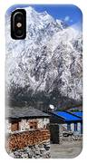 Annapurna Mountain View, Nepal IPhone Case