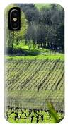 Anne Amie Vineyard Lines 23093 IPhone Case