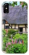 Anne Hathaways Cottage 5975 IPhone Case