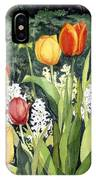 Ann's Tulips IPhone Case