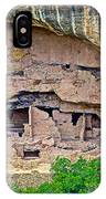 Another Dwelling On Chapin Mesa In Mesa Verde National Park-colorado  IPhone Case