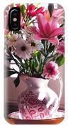 Another Grandma's Pitcher With Flowers IPhone Case