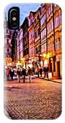Another Prague Night - Czech Republic IPhone Case