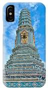 Another Stupa At Grand Palace Of Thailand In Bangkok IPhone Case