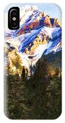 Another View Of My Mountain IPhone Case