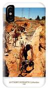 Anthony Howarth Collection - Gold- Re-working Old Mines - S.a. IPhone Case
