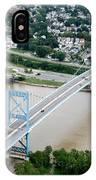 Anthony Wayne Bridge Toledo Ohio IPhone Case