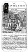 Anti-slavery, 1835 IPhone Case