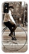Antique Bicycle IPhone Case