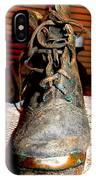 Antique Boots IPhone Case