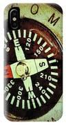 Antique Compass IPhone Case