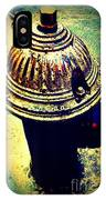 Antique Vintage Fire Hydrant - Multi-colored IPhone Case