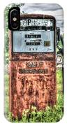 Antique Gas Pump 1 IPhone Case