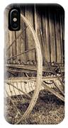 Antique Hay Rake IPhone Case