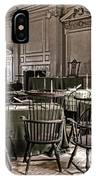 Antique Independence Hall IPhone Case