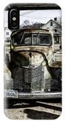Antique International Pickup Truck IPhone X Case
