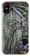 Antique Keys And Padlock IPhone Case