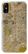 Antique Map Of San Francisco 1932 IPhone Case