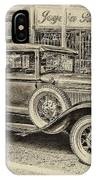 Antique Pickup Truck IPhone Case