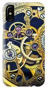 Antique Pocket Watch Gears IPhone Case