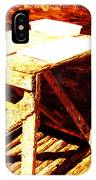 Antique Splitting Table IPhone Case