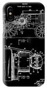 Antique Tractor Patent IPhone Case