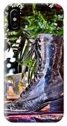 Antique Victorian Boots At The Boardwalk Plaza Hotel - Rehoboth Beach Delaware IPhone Case
