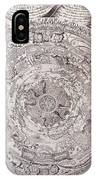 Antique Vintage Map With Elements Beautiful IPhone Case