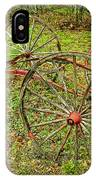 Antique Wagon Frame IPhone Case