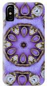 Antique Watch Kaleidoscope IPhone Case