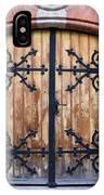 Antique Wooden Door IPhone Case