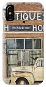 Antiques Blacksmith And Horseshoer IPhone Case