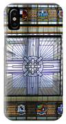 Anzac Day 2014 Auckland War Memorial Museum Stained Glass Roof IPhone Case
