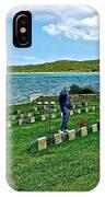 Anzak Cemetery Along The Dardenelles In Gallipolii-turkey IPhone Case