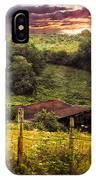 Appalachian Mountain Farm IPhone Case