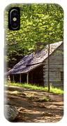 Appalachian Mountain Log Cabin IPhone Case