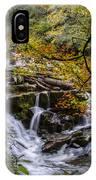 Appalachian Mountain Waterfall IPhone Case