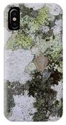 Appalachian Stone Flora IPhone Case