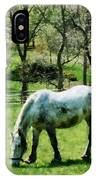 Appaloosa In Pasture IPhone Case