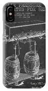 Apparatus For Beer Patent From 1900 - Dark IPhone Case