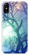 Apple Tree In Winter Fog IPhone Case