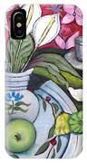 Apples And Lilies IPhone Case