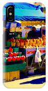 Apples Cortlands Lobos Honey Crisps Mcintosh Atwater Market Apple Fruit Stall Foodart Carole Spandau IPhone Case