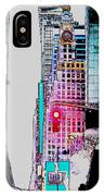 Approaching Times Square IPhone Case