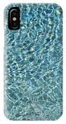Aqua Diamonds IPhone Case