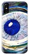Aqua Eye IPhone Case